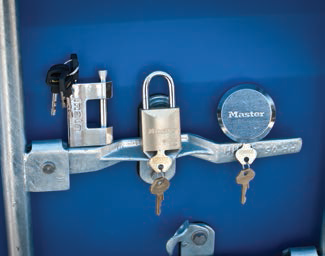 master lock pad and puck lock